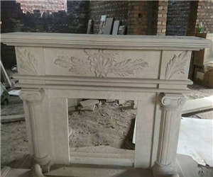 fireplace carving