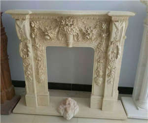 fireplace carving china
